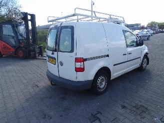 disassembly commercial vehicles Volkswagen Caddy 1.9 Tdi 2008/4