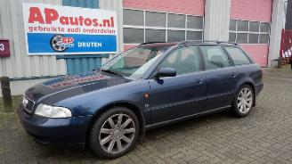 disassembly passenger cars Audi A4 A4 Avant (8D5) 1.8 1996/1