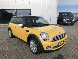 damaged passenger cars Mini Cooper Clubman 1.6 88kw  Airco 2008/10